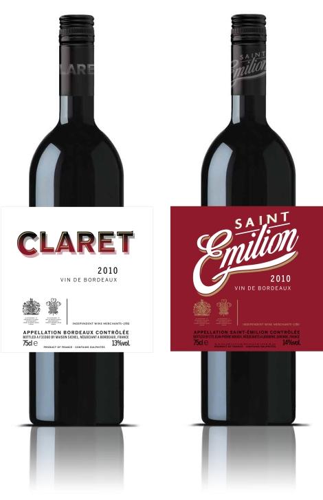 Wine branding NGS