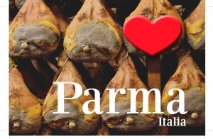 Parma Ham postcard  image