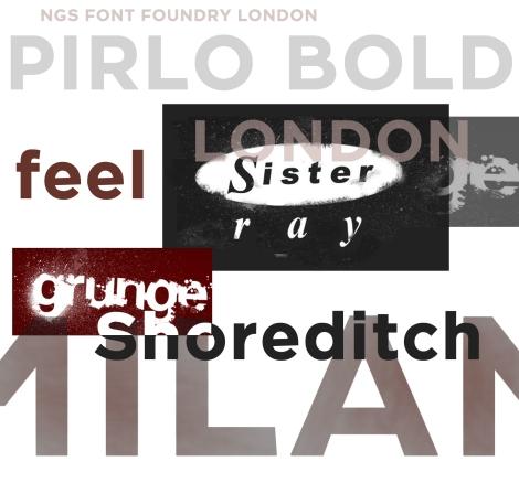 Pirlo Poster Grunge
